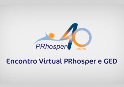 Encontro Virtual PRhosper e GED 2020